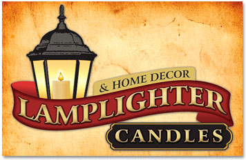 Lamplighter Candles Logo design